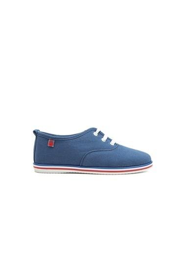 Benetton Bn30223  Kadın Spor Ayakkabı Mavi